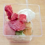 Strawberry dessert from the Driftwood Kitchen. Photo by Ed Simon for The Los Angeles Beat