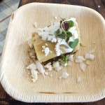 Tamale from Red O. Photo by Ed Simon for The Los Angeles Beat