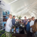 Tasting wine with sponsor Celebrity Cruises. Photo by Ed Simon for The Los Angeles Beat