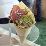 Tuna and Noodles from Tommy Bahama's. Photo by Ed Simon for The Los Angeles Beat