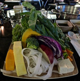 Vegetarian platter at True Seasons Organic Kitchen.Photo by Ed Simon for The Los Angeles Beat.