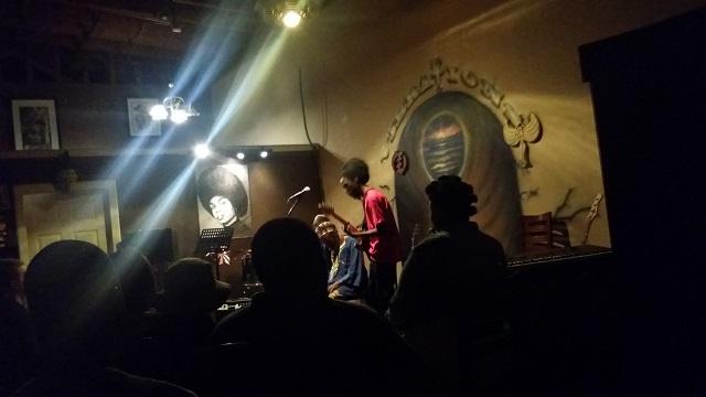 Seven Fireside Rasta Elder, Photo by Jennifer K. Hugus for The Los Angeles Beat