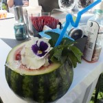 Watermelon drink from Cruzan Rum. Photo by Ed Simon for The Los Angeles Beat