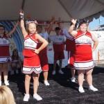 World Games Cheerleaders Pier del Sol
