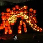 Rise of the jack o' lanterns dinosaur