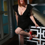 LA-based Performance Artist, Writer, and Professional Dominatrix Grace Marie at the Decameron (Photo courtesy of Grace Marie)