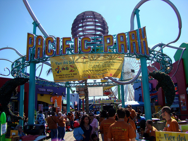 Pacific Park. Courtesy of Pier del Sol