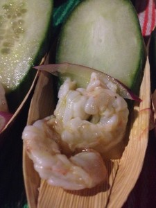Shrimp ceviche from Casa Condesa at Taste of Mexico preview