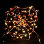 Rise of the jack o' lanterns spider web