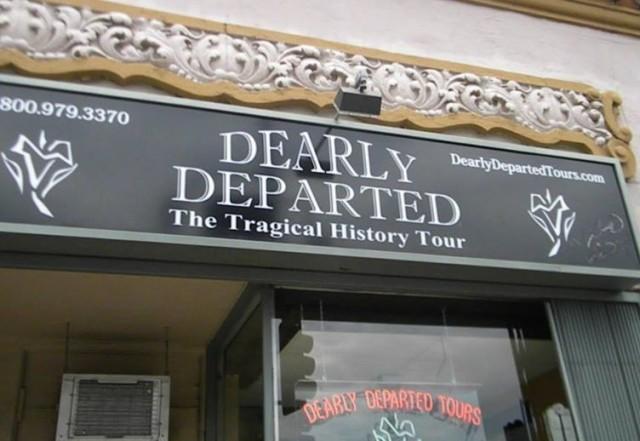 Dearly Departed Tours Sheds Spotlight on LA's Dark Side