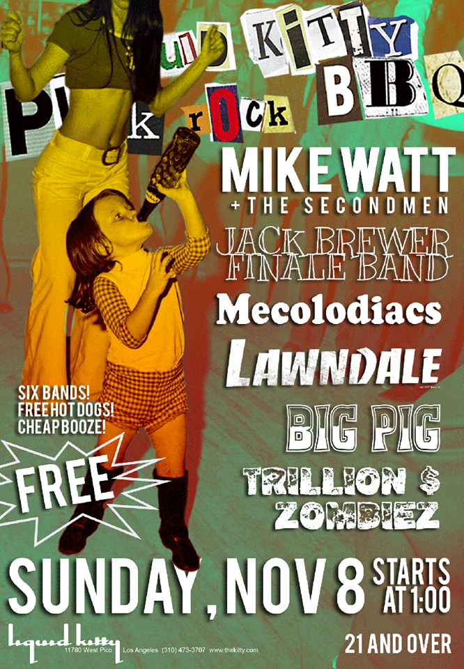 Liquid Kitty Punk Rock BBQ November Edition