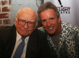 2 Ed Asner and Gary Strobl