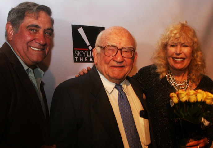 Actors Dan Lauria and Loretta Swit were among the many Hollywood stars who came to salute actor Ed Asner at his 86th birthday salute event, held at Los Angeles' Skylight Theatre Company.