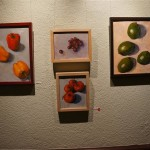 Paintings for the silent auction at Taste America