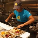 Preparing a plate