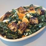 Yalla chicken with power greens