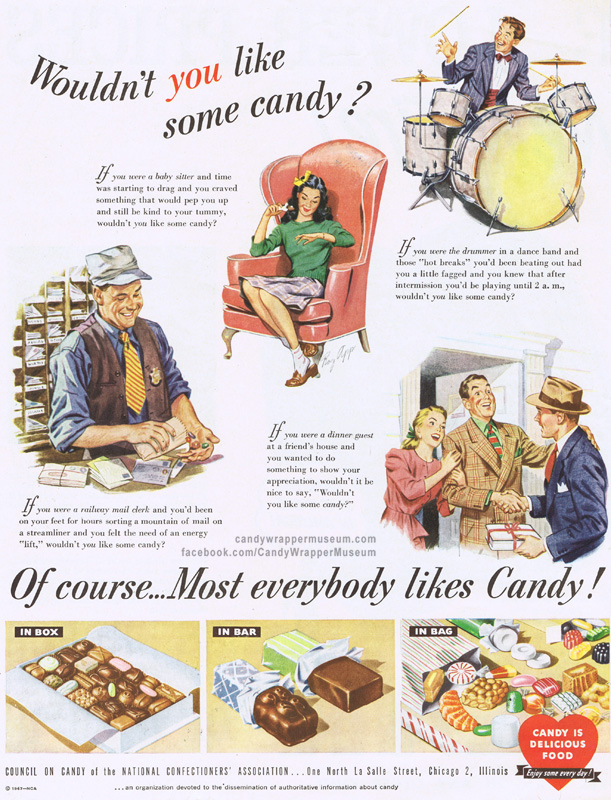 Love Candy Ad