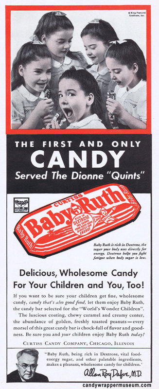 Dionne Quints Baby Ruth