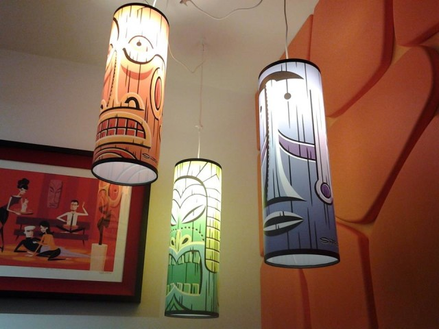 Shag-designed lamps (Photo by Grease George)