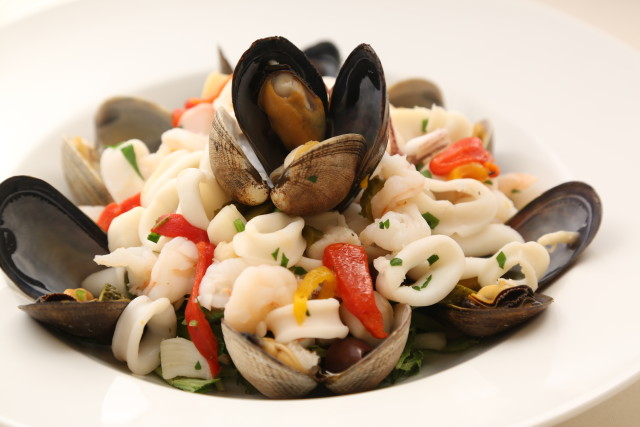 Mixed Seafood Salad, Celestino Ristorante (Photo Credit: Moretti Photo)
