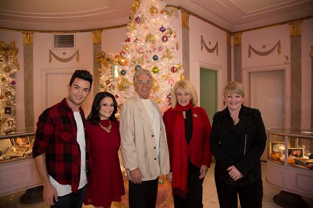 (L-R) Chris Trousdale, Romi Dames, Paul Petersen, Ilene Graff, and Alison Arngrim; Photo Courtesy of Bill Dow