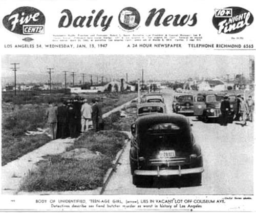 This Saturday, True Crime Tour Follows the Black Dahlia
