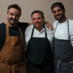 Chef Brendan Collins and the team from Birch