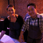 Chef Bryant Ng and wife of Cassia