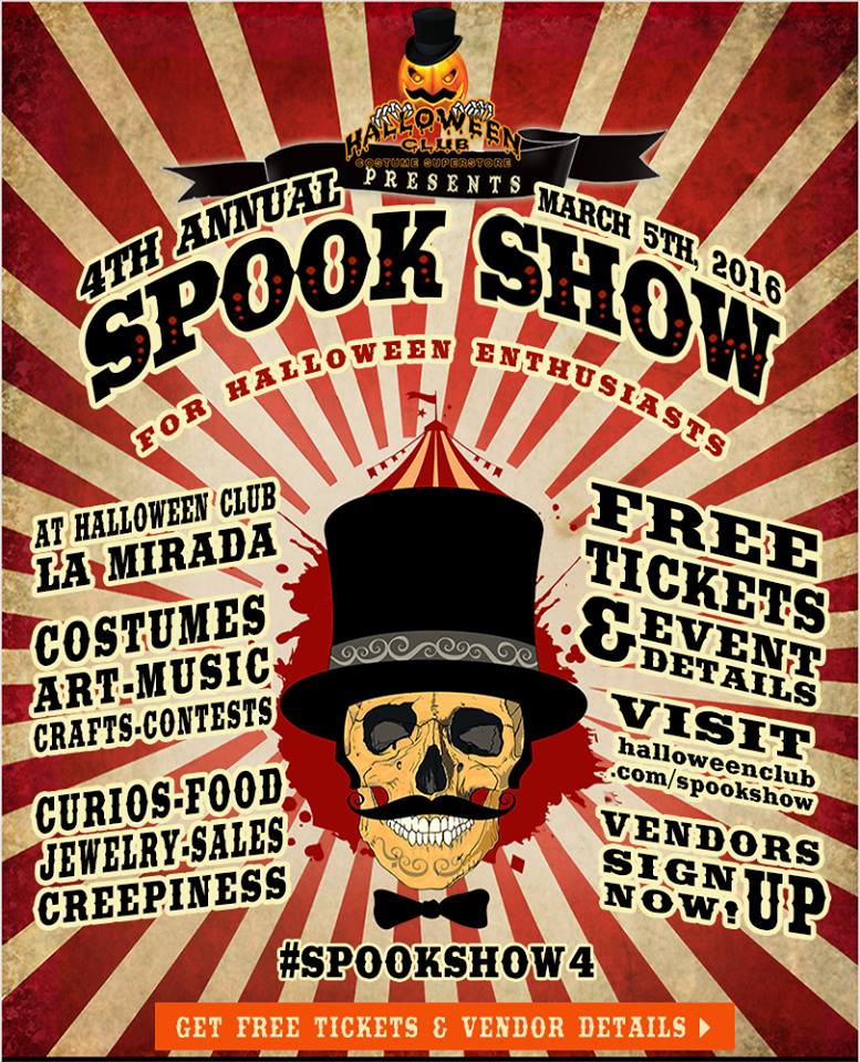 Spook Show flier