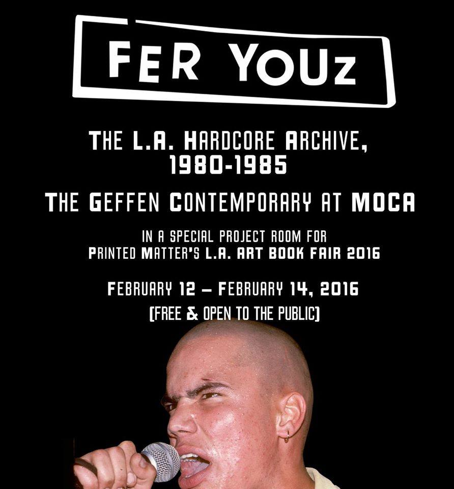 Fer Youz at The Geffen Contemporary at MOCA