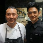 Chef Chris Oh and Actor John Cho