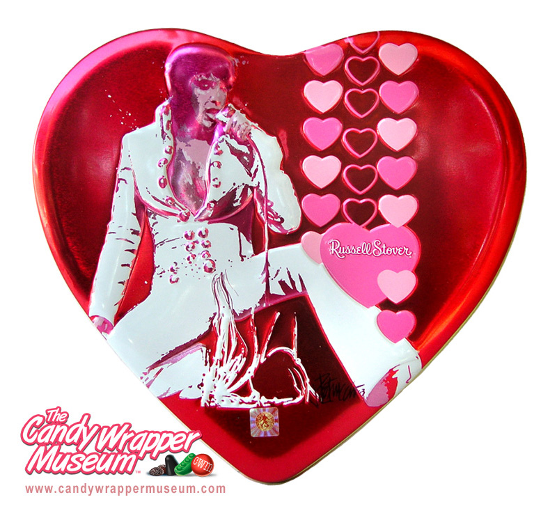 Russell Stover Elvis Tin 2002