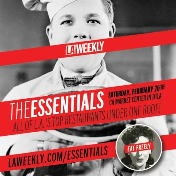 Win 2 Tickets to LA Weekly's Essentials! Free Food! Free Booze!