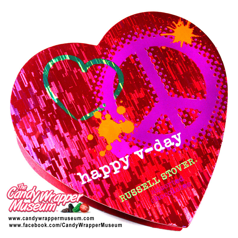 Russell Stover Peace Love V-Day