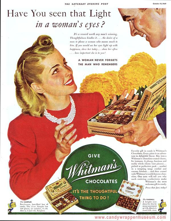 Whitmans Light in Her Eyes