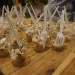Ceviche of shrimp and mahi mahi from An Catering by Crustacean