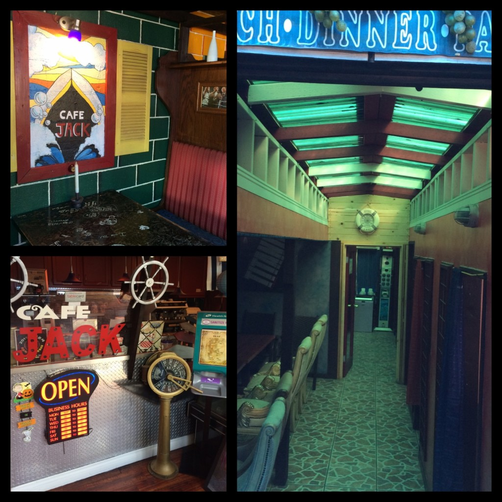The interior of Cafe Jack (photos by Nikki Kreuzer)