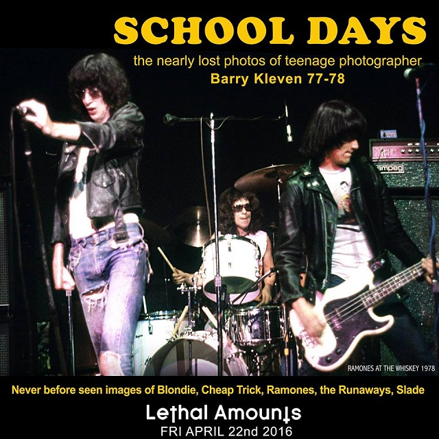 """School Days"" at Lethal Amounts: The Nearly Lost Photos of Barry Kleven"