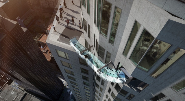 Plan for Skyslide (Image Courtesy of OUE Limited)