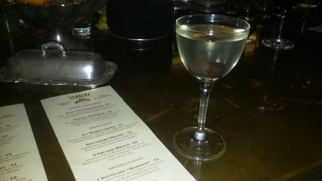 Terrine's Chocolate Martini (Photo by Simone Snaith for The LA Beat)