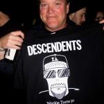 Phil-o sporting a Fletcher T-shirt (Photo by Jordan Schwartz)