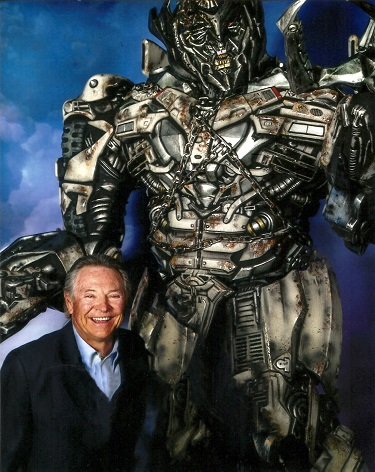 Frank Welker as Megatron; Photo Courtesy of BHBPR