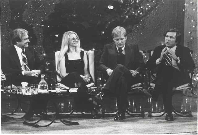 Frank Welker on the Merv Griffin Show; Photo Courtesy of BHBPR