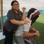 Chair massages from Massage Envy