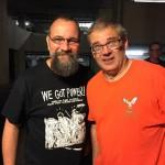 Dave Markey and Milo (Photo courtesy of Dave Markey)