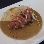 Beef Tartare from Alexander's Steakhouse