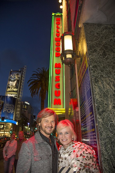 (L-R) Stephen Nichols and Mary Beth Evans; Photo Courtesy of Bill Dow