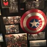 Captain America memorabilia