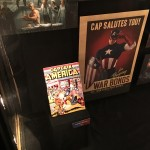 Captain America memorabilia  at El Capitan