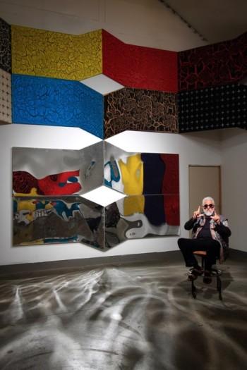 Ed Moses via the William Turner Gallery